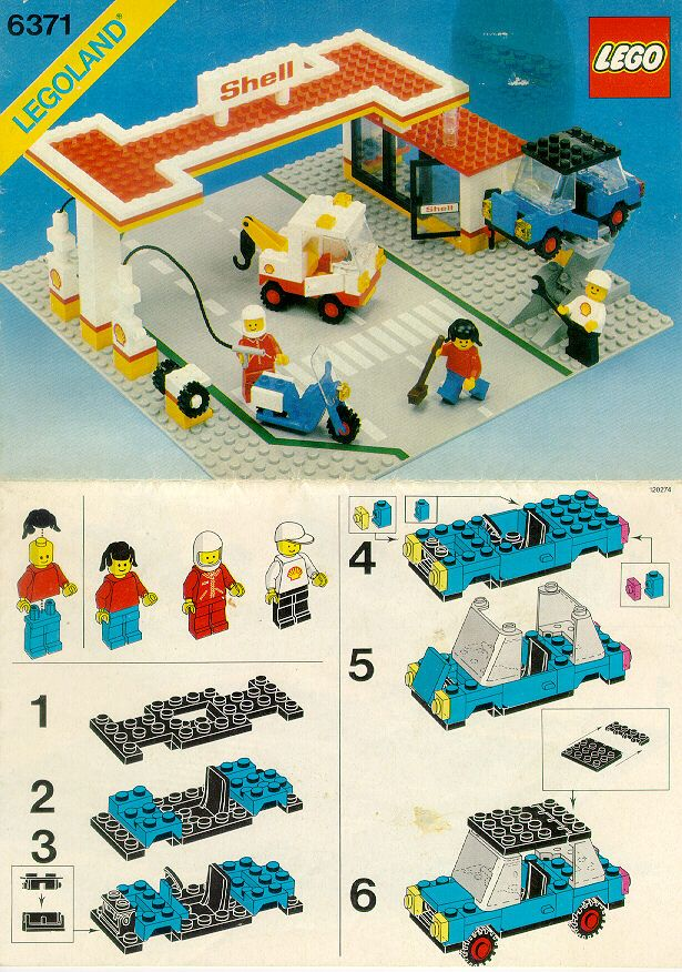 City Service Station Instruction Manuals Lego Ideas Pinterest