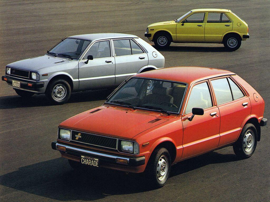 Daihatsu Charade G10 1977 81 Daihatsu