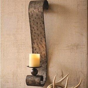 Candle Sconces Wall Decor candle sconces | metal candle wall sconces | spaces | pinterest