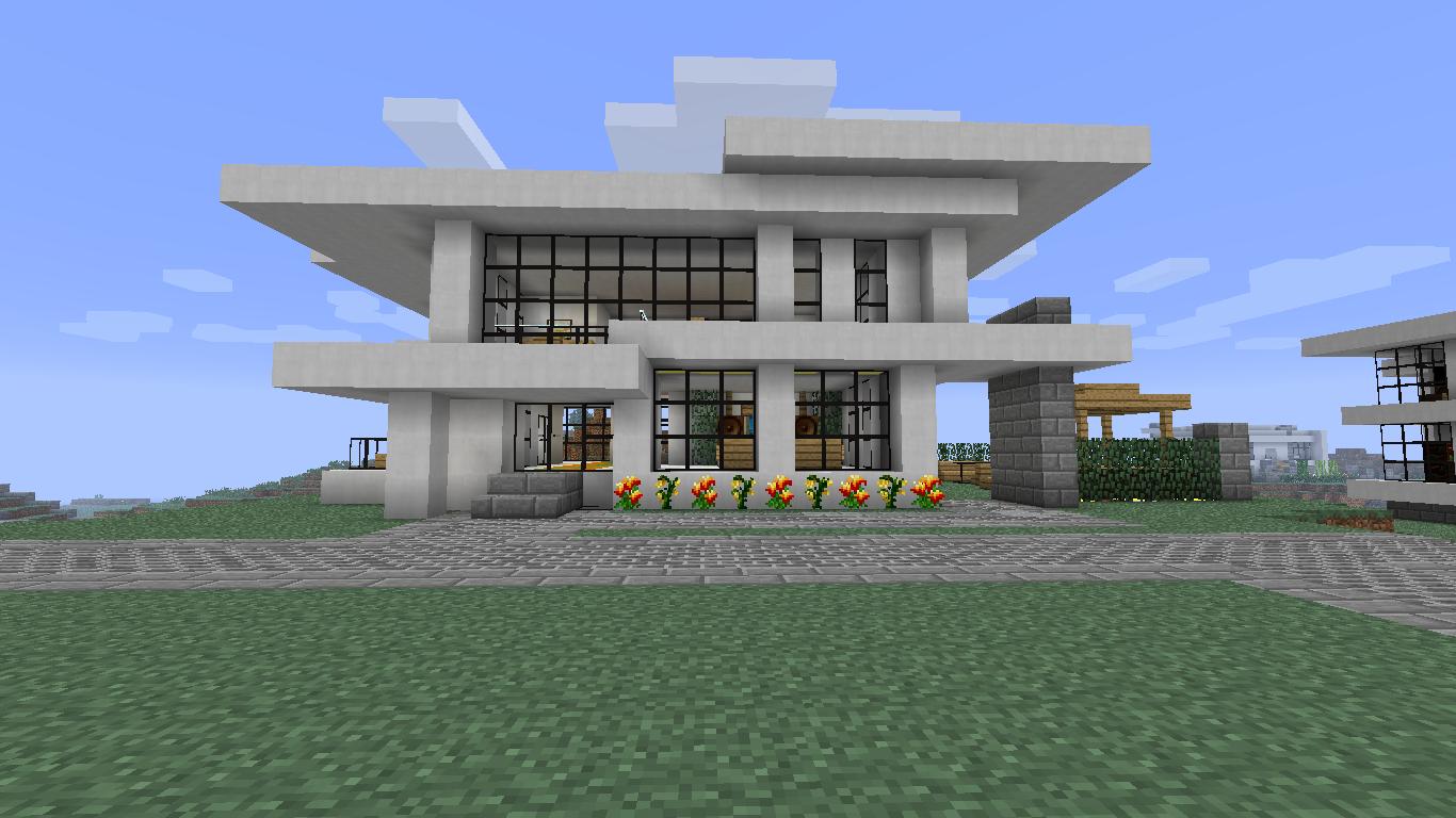 Minecraft Modern House Interior Design