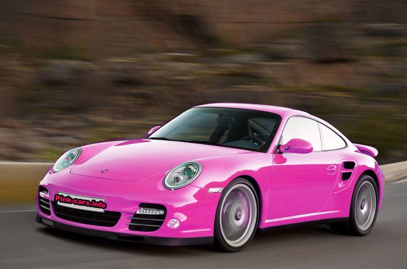porsche carrera розовая