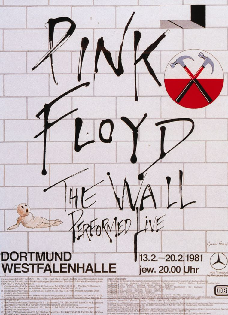 pink floyd the wall tour 1981 pink floyd concert pink on pink floyd the wall id=58263