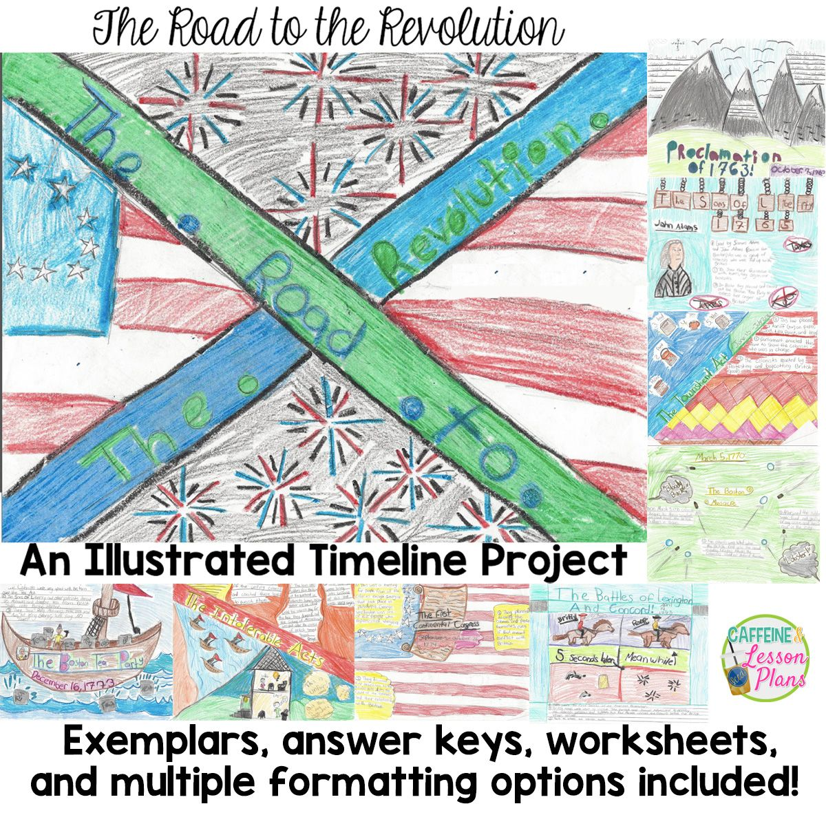 Road To The Revolution An Illustrated Revolutionary War