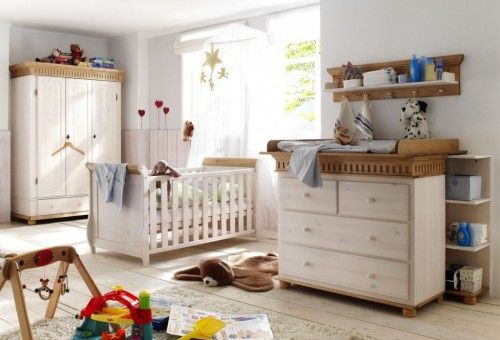 Ideal  babyzimmer komplett set paul kiefer massiv weiss