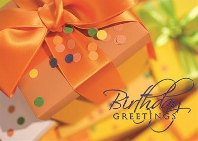 Corporate Birthday Card Festive Birthday Present – Wall Street Birthday Cards