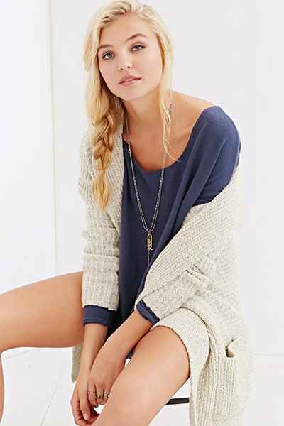 Project Social T Oh So Cozy Tunic Top - Urban Outfitters