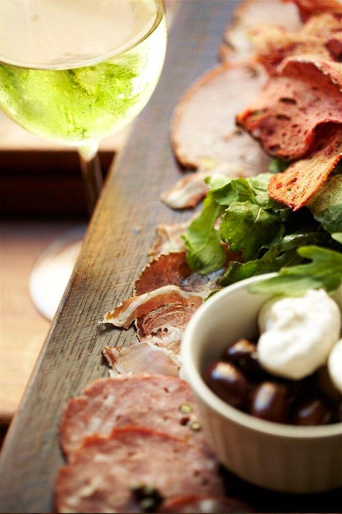 Bread & Wine Restaurant's delicious Antipasto platter.