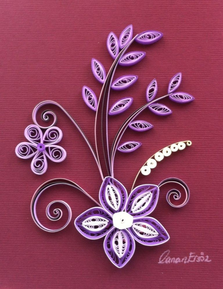 Quilling. By Canan Ersöz.
