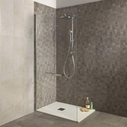 Piastrella Vision Cube 25 x 75 cm grigio | Douches de salle ...