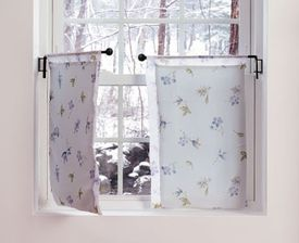 Crane Curtain Rods Set 24 Inches Kitchen Or A Bath Window