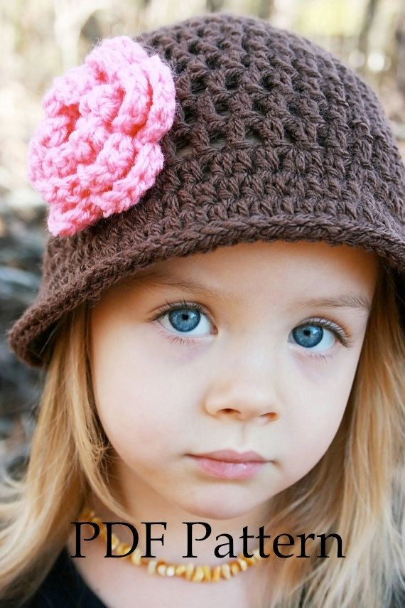Crochet Pattern Crochet Hat Pattern Instant Download Julia Hat