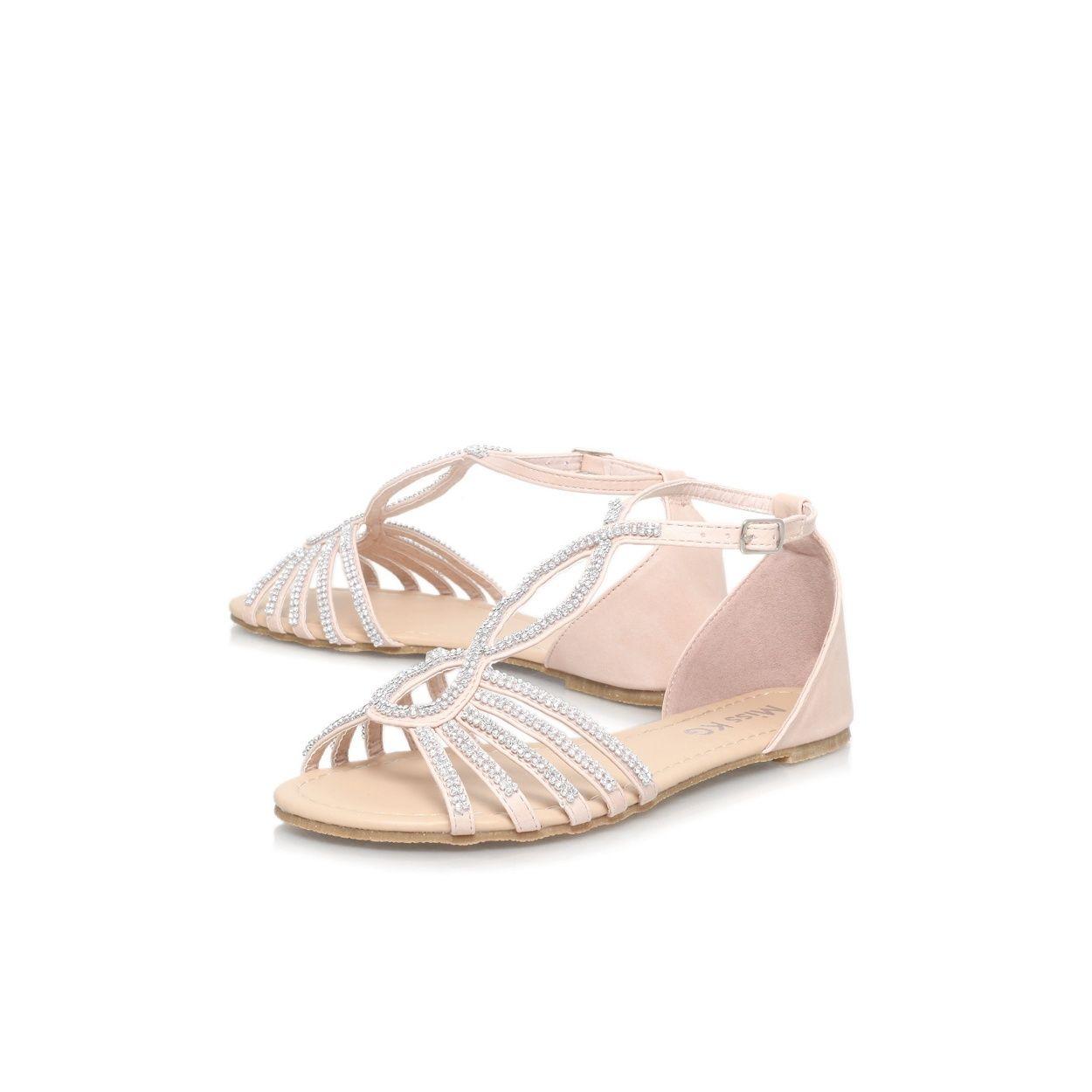 Women's sandals debenhams - Miss Kg Nude Rada Flat Sandal At Debenhams Com