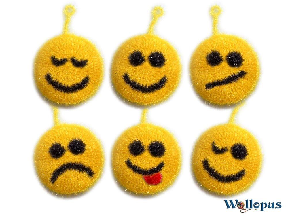 Fröhliches für die Küche Smiley Putzen macht keine gute