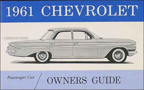 1960 1964 Chevy By The Numbers Decoder Book For V8 Drivetrain
