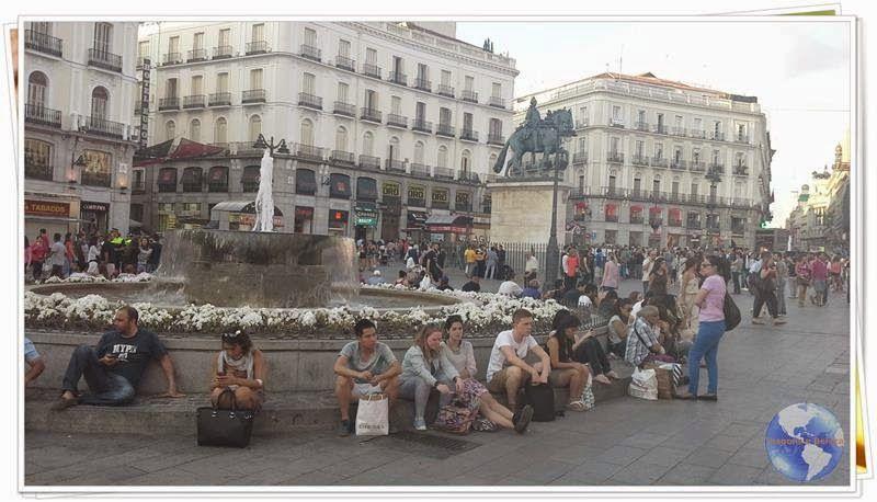 Viagens e Beleza: Puerta del Sol, palco central dos principais acont...