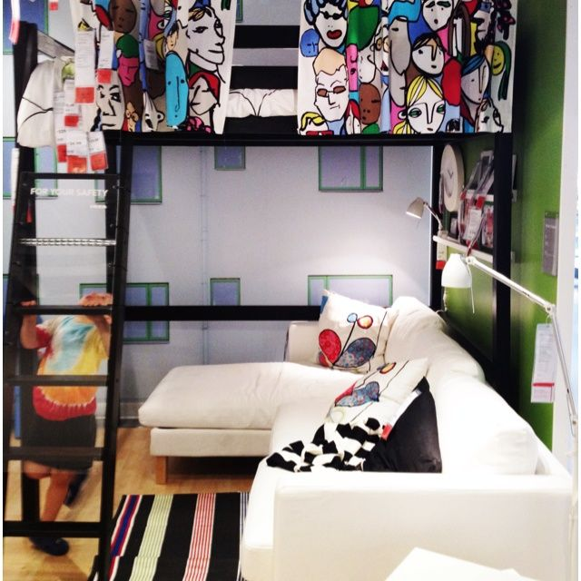 Ikea Beds For Small Spaces Part - 42: Ikea Loft Bed Ideas - Google Search