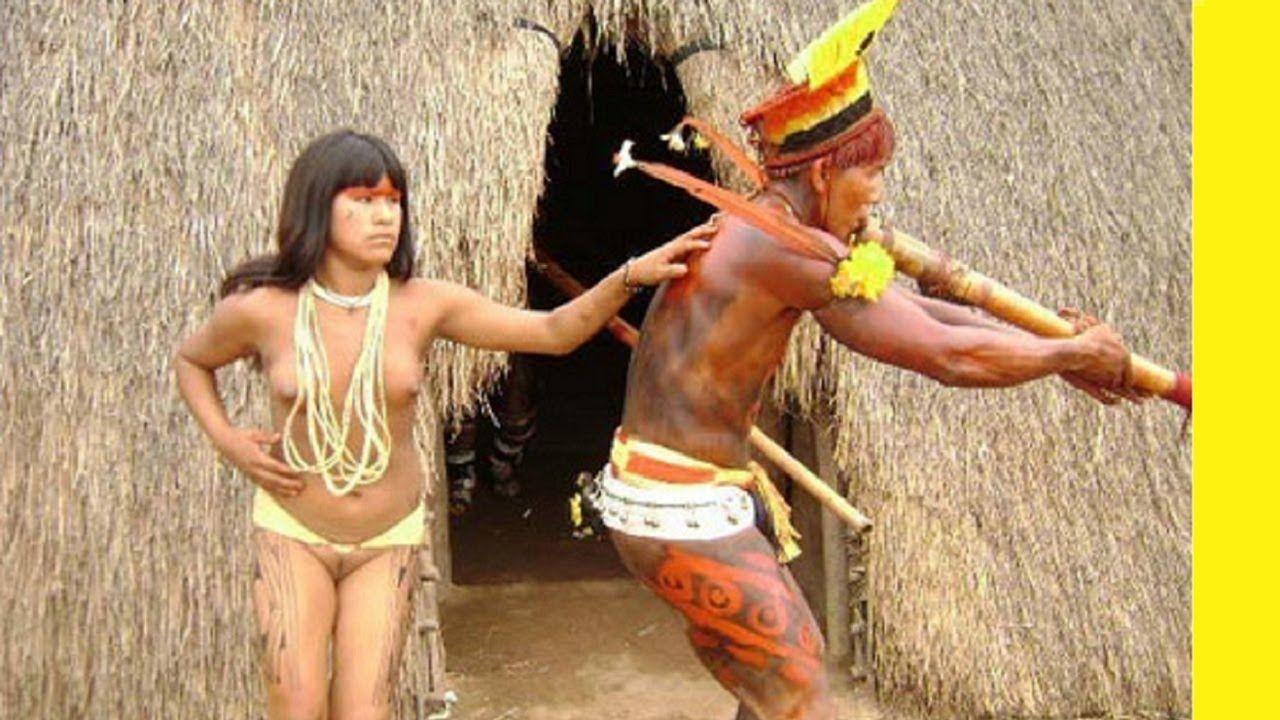 Порно видео племён амазонии