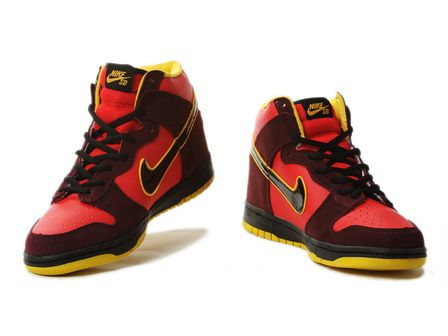 best sneakers 1eef4 266d9 Nike Dunk Iron Man Shoes High Tops  Cool High Tops Nikes Dunks Adidas  Converse Cartoon Shoes, Cheap For Sale