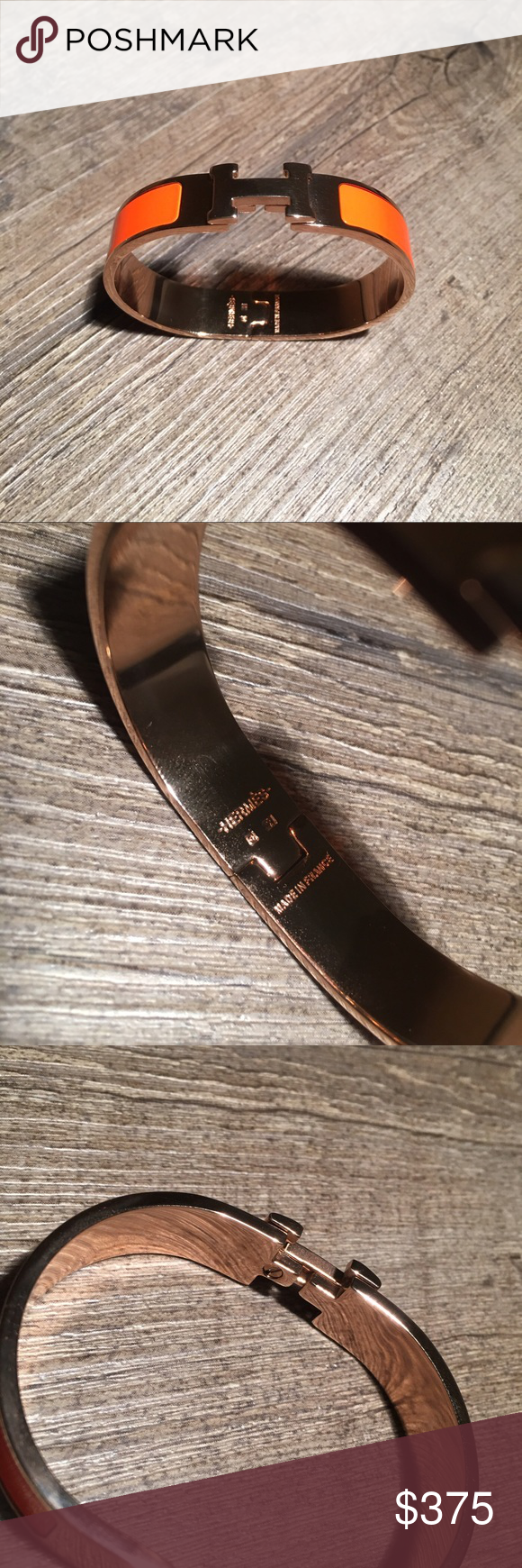 Hermes clic h bracelet this is a beautiful classic and timeless
