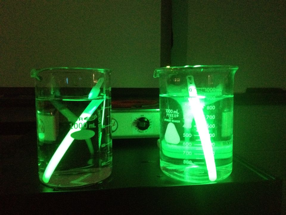 Cool experiment you can do at home the one on the left is a