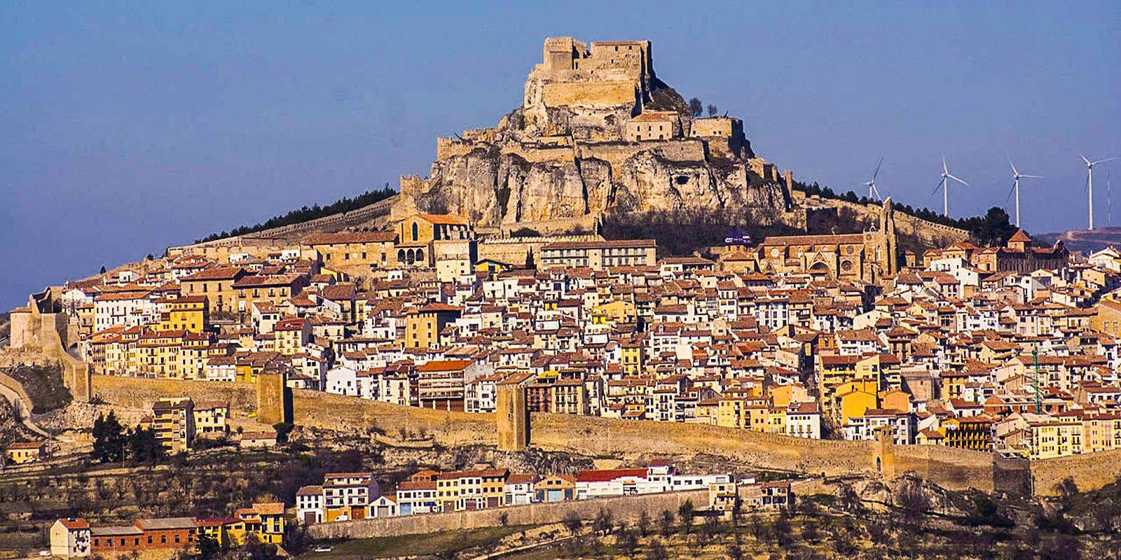 Camino De Castellon Castellon De La Plana Morella Fuentes De Ebro
