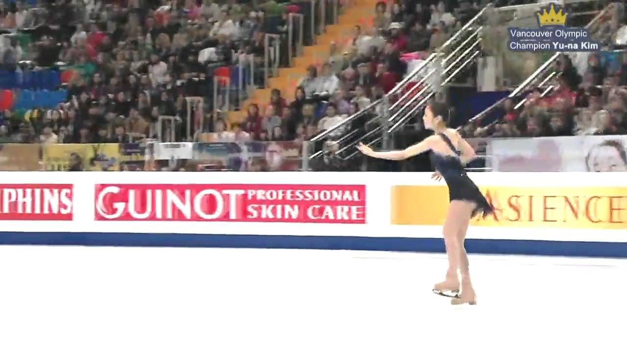 "(No Commentary) Yuna Kim SP ""Giselle"" - 2011 World Figure Skating Champi..."