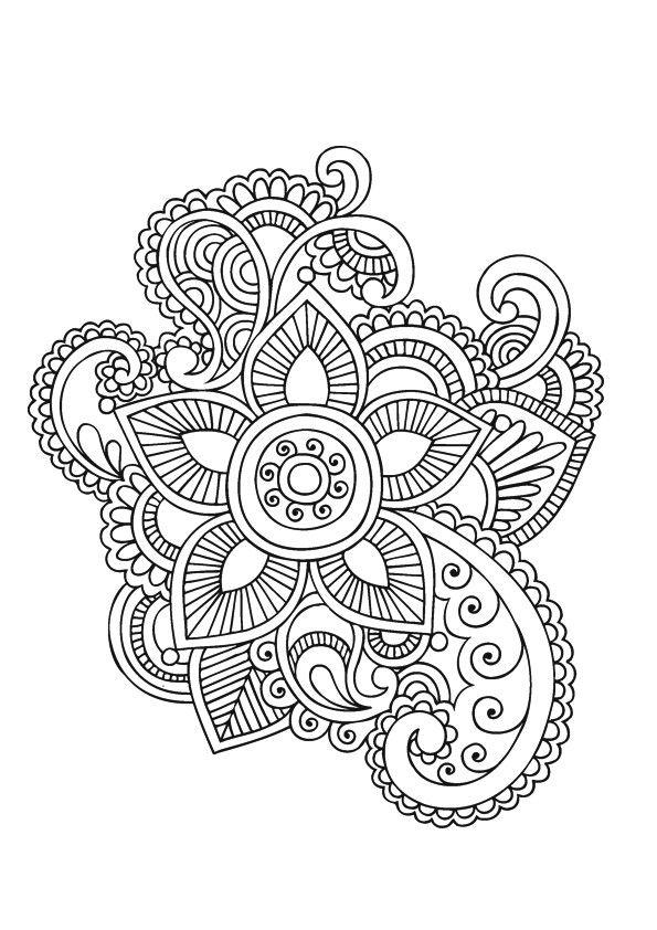 Pin de Atipriya en Diwali | Pinterest | Mandalas, Dibujo y Colorear