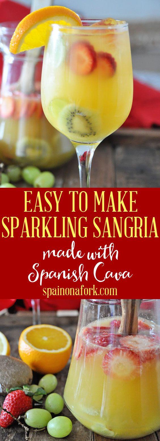 Spanish Cava Sangria Recipe The Ultimate Sparkling Wine Cocktail