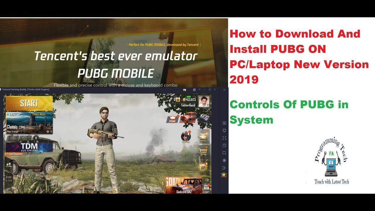 How To Download And Install PUBG 2019 ON PC/Laptop Hindi