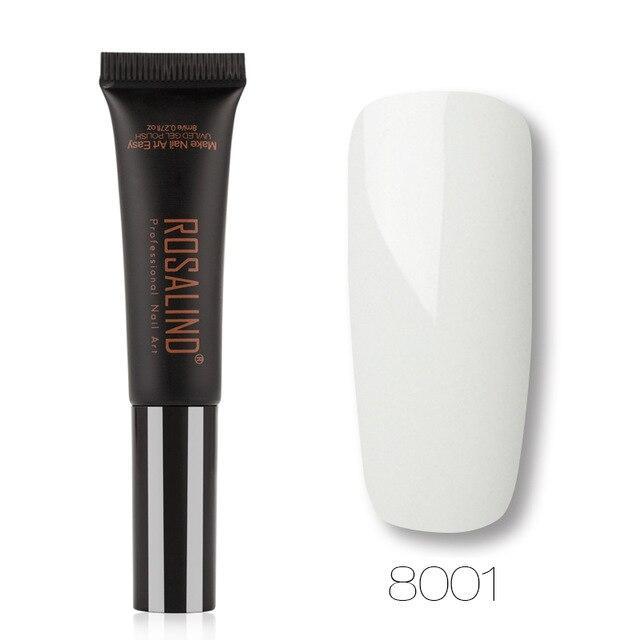ROSALIND Gel 1 S Neue Ankunft 8 ML 8001-8030 Farbe Dawdler Gel Semi Permanent Soak …   – Products