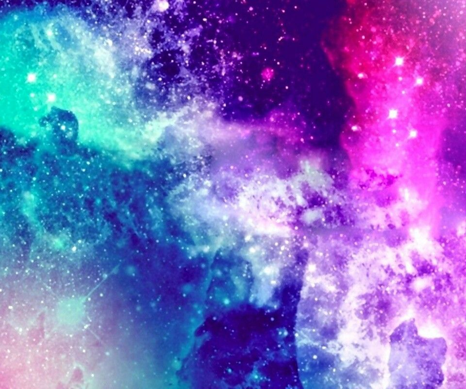 Blue, Purple, Pink Galaxy