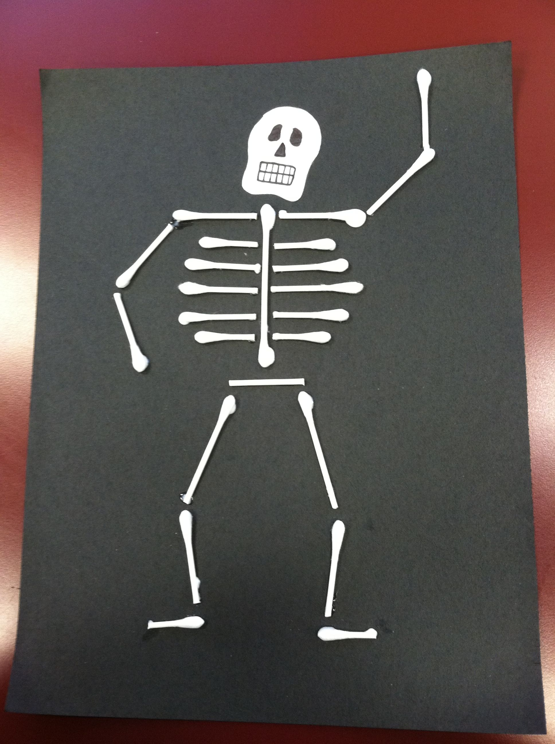 Amy's q-tip skeleton is better than yours