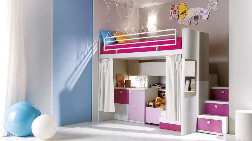 Comment Amenager Un Lit Mezzanine Pour Une Petite Fille Bed