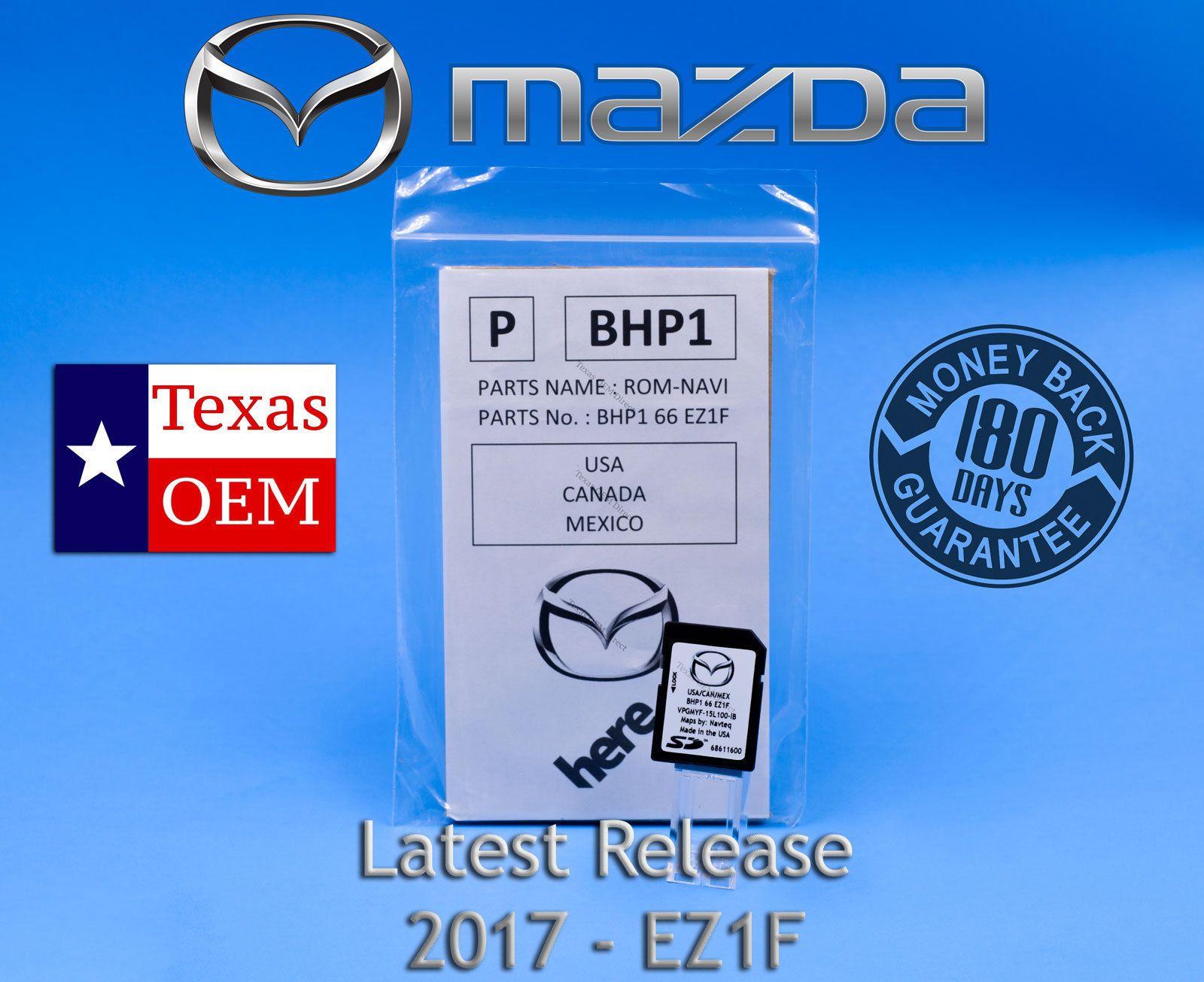 2016 mazda 3 navigation sd card