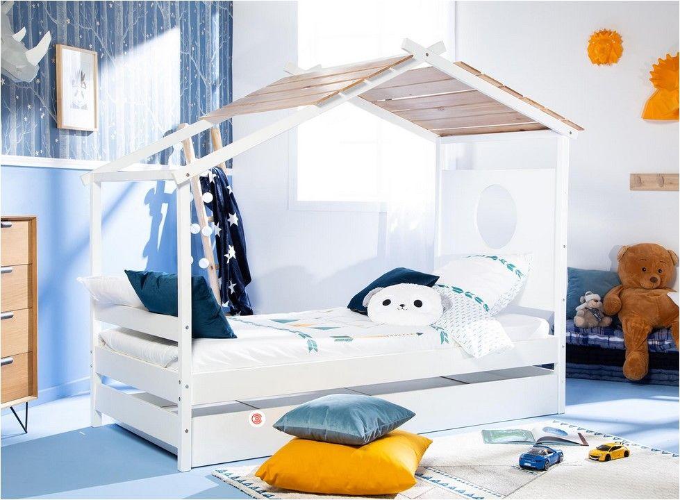 lit enfant cabane gigogne nayah avec