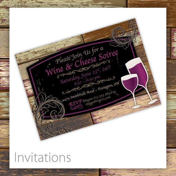 Cocktail Party Invitation - Vintage Vino ~ $20.00 ~ Wine & Cheese Invitation, Birthday Party Invitation, Rehearsal Dinner Invitation, Dinner Party Invitation, Dinner party ideas, Wine and cheese ideas, rehearsal dinner ideas, 40th Birthday, 50th Birthday, 60th Birthday, 70th Birthday, Wine tasting, Wine and cheese, Birthday ideas, birthday themes #wineinvitation #wineandcheese #birthdayinvitation ~ https://www.etsy.com/listing/224072789