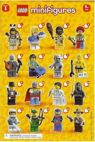 The Minifigure Collector Lego Minifigure Series 1 15