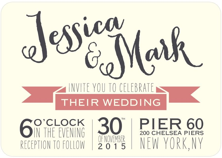 Our wedding invite designed by @confettimaker Wedding Stationery - publisher invitation templates free