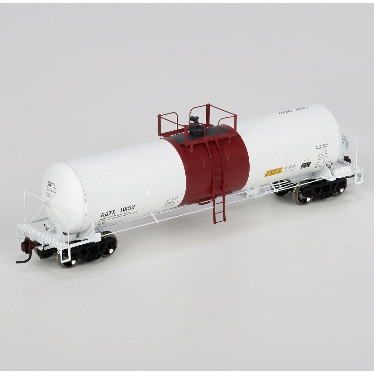 HO GATC 20,000-Gallon Acid Tank, GATX #11652 (ATHG96522): Athearn Trains