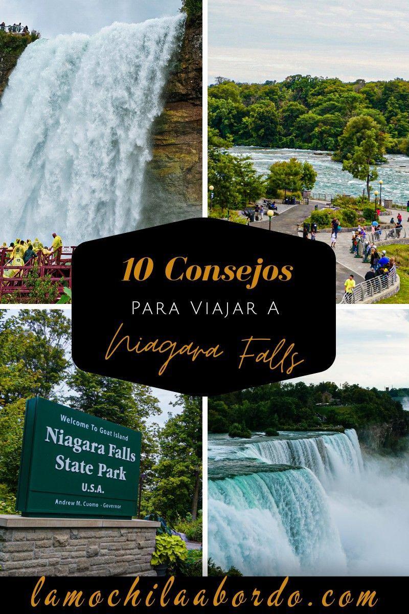 10 Consejos Para Visitar Las Cataratas Del Niagara Niagara Falls State Park State Parks Usa State Parks