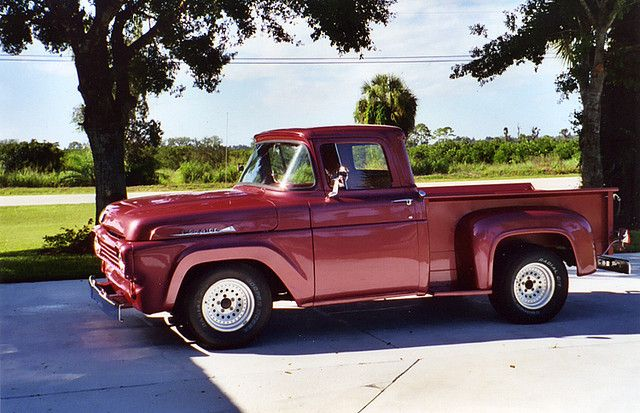 1958 Ford Pickup Trucks Vintage Pickup Trucks Ford Truck Models