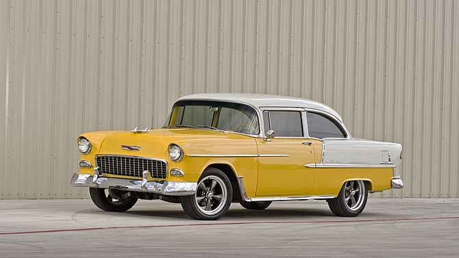1955 Chevrolet 210 Mecum Auctions 1955 Chevrolet Cool Old