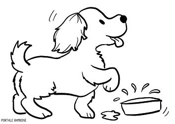 Cani Da Colorare Stampare.Disegni Di Cani Da Stampare E Colorare Gratis Portale Bambini