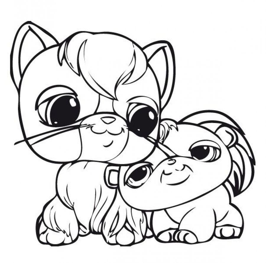 Littlest Pet Shop cute animals printable coloring sheets | coloring ...