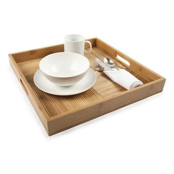 core bamboo luxe tray