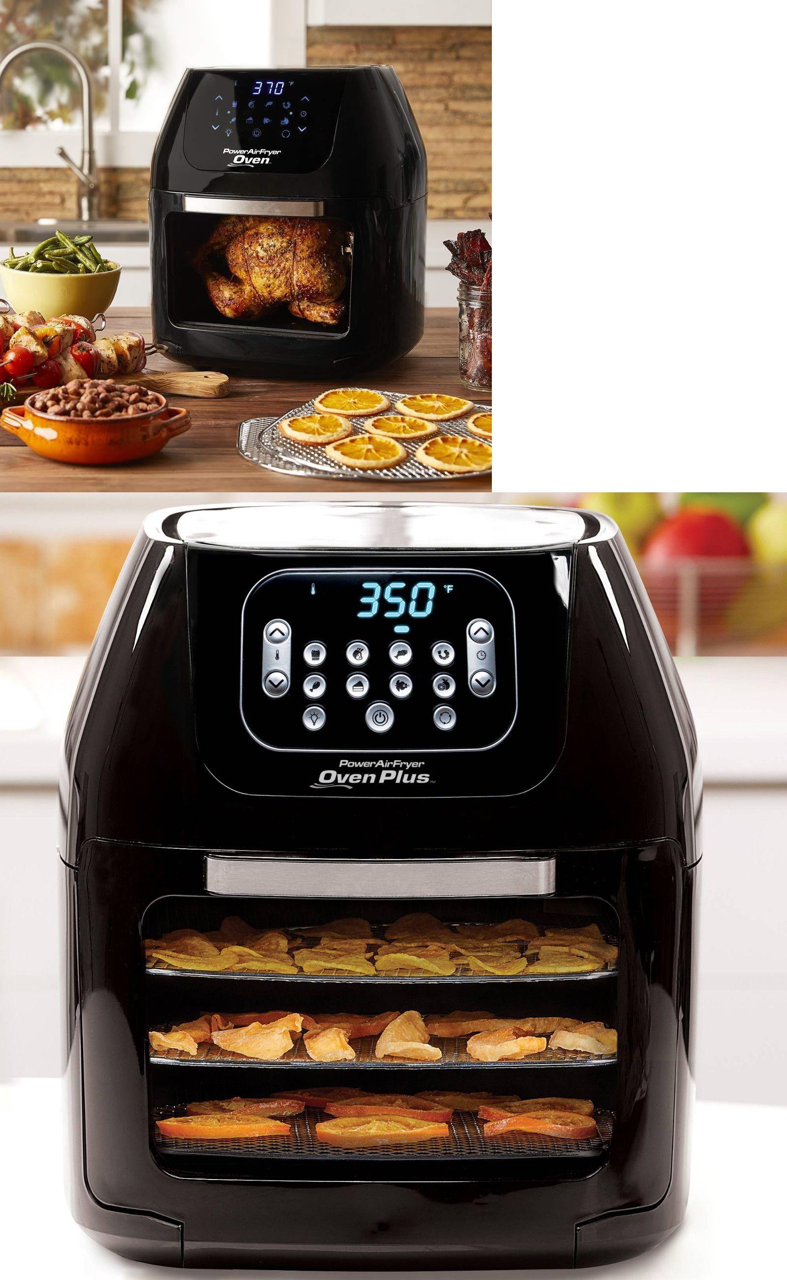 Fryers 185033 Power Air Fryer Oven Rotisserie Dehydrator 7 In