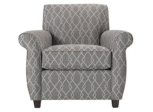 Classic Inspirations On A Chic Frame Result In The Fabulous Beckham Accent Chair This Piece Blends Modern Accent Chairs Stylish Accent Chairs Grey Upholstery