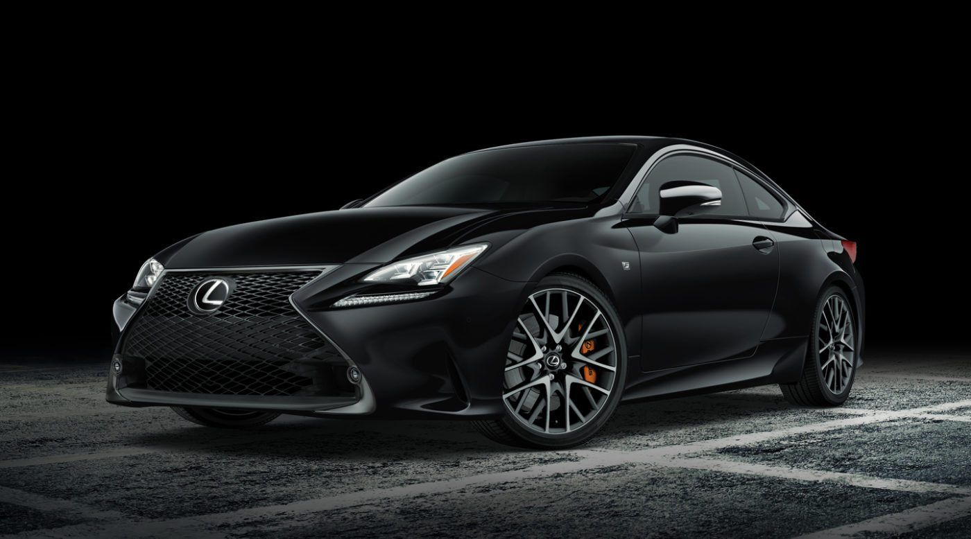 Meet the new special line of ninjalike cars by Lexus, the