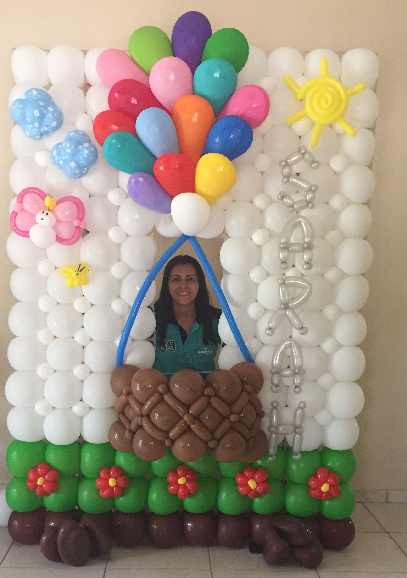 Hot air balloon | balloons | Pinterest | Ballon-Dekoration ...