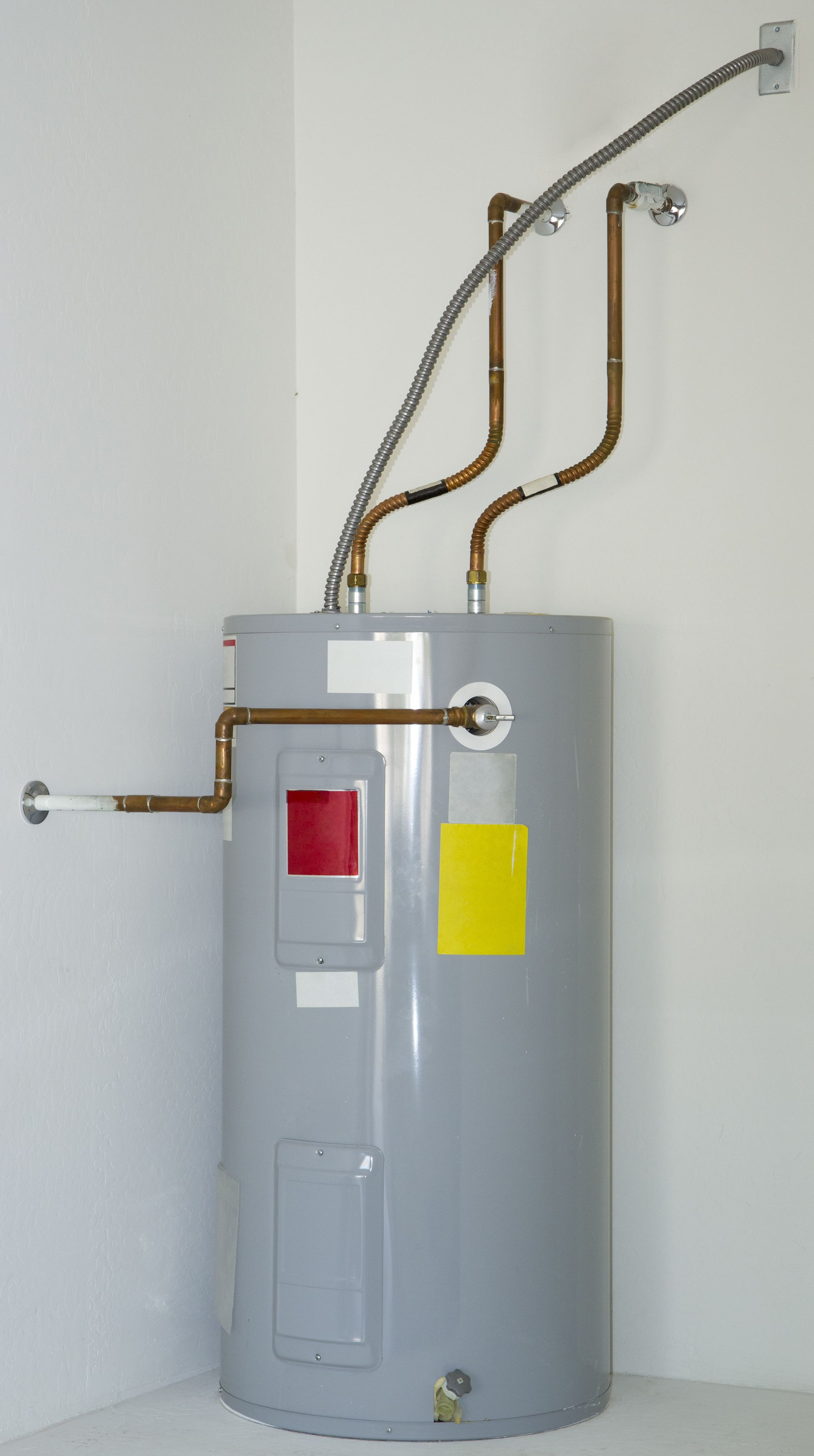 Can you replace a gas hot water heater with an electric one Answer